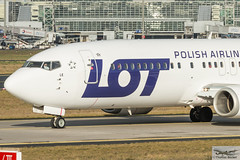 LOT Polish Airlines Boeing 737-45D SP-LLE (887779) (Thomas Becker) Tags: cn plane germany airplane geotagged deutschland star airport nikon raw hessen frankfurt aircraft lot polish aeroporto 400 warsaw boeing gps flughafen aviao nikkor fx airlines flugzeug aeroport aeropuerto 70200  f28 aereo spotting waw fra avion 737 alliance d800 vliegtuig taxiing ln fraport b737 rheinmain 45d aeroplano noseshot eddf samolot 2804 centralwings 27914 splle aerotagged vrii b734  aero:man=boeing aero:model=737 aero:series=400 aero:airport=eddf aero:airline=lot n1786b 120796 aviationphoto geo:lat=50039523 geo:lon=8596970 160114 lo382 290696 aero:tail=splle