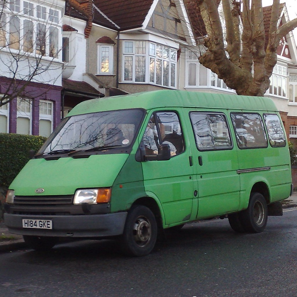 10 Ford Transit 15str Minibus: The World's Best Photos Of Mk3 And Transit