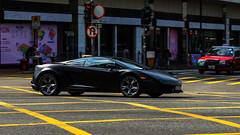 Matt Black Gallardo (ChesterC Photography) Tags: auto italy black matt amazing italian automobile asia power automotive na panasonic lamborghini awd v10 gallardo gx1 egear lp560 lp5604