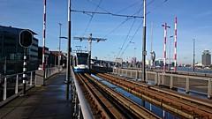 Tram & brug 15 (Peter ( phonepics only) Eijkman) Tags: city holland netherlands amsterdam transport nederland bridges tram rail rails trams noordholland gvb tramtracks combino nederlandse bruggen