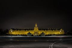 Paris - Htel des Invalides (the_wonderer_wanderer) Tags: paris france monument night nightscape invalides htel lightstream