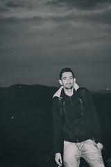 self-portrait (Amine Ounnas Photography) Tags: portrait mountain selfportrait black grey blackwhite