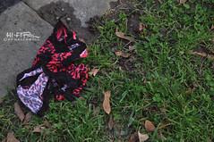 Victoria Has More Secrets (Hi-Fi Fotos) Tags: pink panties nikon underwear ground lingerie drop story cheetah undies victoriassecret drawers discard commando walkofshame cutandrun d5000 hallewell hififotos