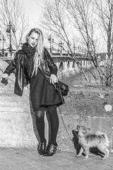 _DSC7512 Kimie Joye Buaillon (xavier buaillon) Tags: portrait people blackandwhite cute girl beautiful beauty look french photography photo model nikon exterior looking young bordeaux posing sigma naturallight 200 blonde 70 d800 modle kime buillon