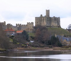 Warkworth Castle on River Coquet (Gilli8888) Tags: castle beach architecture buildings coast northumberland warkworthcastle warkworth coquet rivercoquet