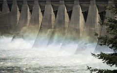 DOE Collaboration Brings New Hydropower Online (ENERGY.GOV) Tags: mist tree water fog forest waterfall fishing technology dam salmon clean generator generators electricity renewable hydroelectric rushingwater renewableenergy fossilfuels cleanpower cleanenergy watermist hydroelectricdam pureenergy fishladders electricitygenerators futureenergy