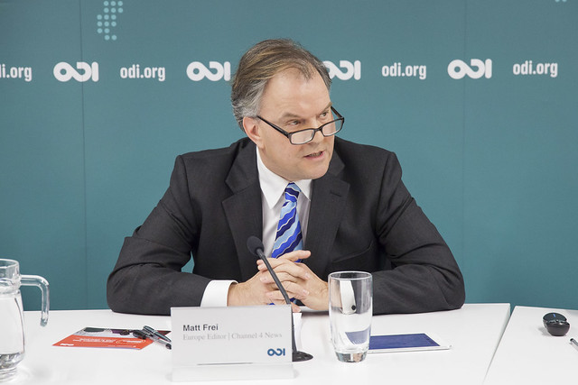 Matt Frei chairs ODI's event Global migration: from crisis to opportunity