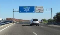 A-66-6 (European Roads) Tags: de la sevilla andaluca spain plata andalusia alto venta santiponce autova a66 gerena algaba