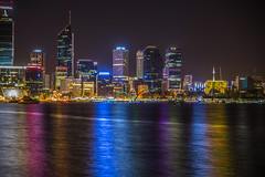 The New Elizabeth Quay (hoomanz) Tags: reflections long exposure elizabeth smooth quay perth waters silky