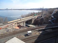 New Hamilton Desjardins Channel Twin Track Bridge For GO Transit Being Built (drum118) Tags: gotransit cnrail metrolinx hamiltonphoto urbanhamilton ontariophoto hamiltondesjardinschannel newhamiltondesjardinschanneltwintrackbridgeforgotransitbeingbuilt