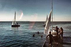 crazy summer days (stocks photography.) Tags: leica whitstable michaelmarsh