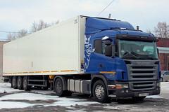Scania G380  С 580 ЕТ 45 (RUS) (zauralec) Tags: auto car 45 truk scania rus 580 город автомобиль с центр kurgan рио грузовик курган торговый автопоезд ет скания g380 rioshoppingcenter