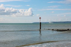 Solent Coastline (Jim-Paterson) Tags: sea clouds landscape coast dorset solent groyne bournemouth southbourne