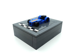 Microscale Caterham 7 (2 Much Caffeine) Tags: car lego micro caterham moc microscale