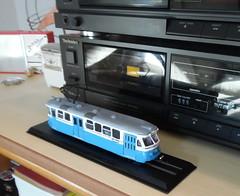 H0 1/87 scale model Gteborg trolley (HO scale trams 43rd scale cars) Tags: scale gteborg tram mustang tramway m25 goteborg sprvagn h0 pedalvogn