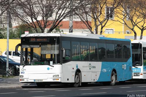 MAN Irmaos Mota Atomic UR2005 Rodoviária de Lisboa 405, Avenida Almirante Gago Coutinho, 15 de Janeiro de 2016