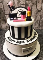 Chanel 21st Cake