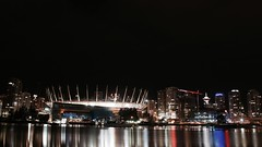 BC PLACE 2 (Scendence) Tags: ocean street city morning light sunset dog moon canada colour reflection beach beautiful architecture night vancouver cat canon buildings stars landscape rainbow nikon long exposure cityscape bc bright top space sony wideangle olympus fisheye filter flare astronomy spark epic recent followers gain