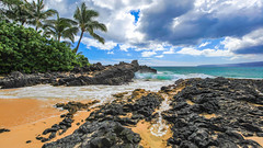 Beautiful Secret Beach on Maui (Brian Berson) Tags: beach secret secretbeach maui