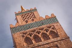 Minarete de la Koutoubia (Pablo Rodriguez M) Tags: morocco maroc marrakesh marruecos koutoubia minarete