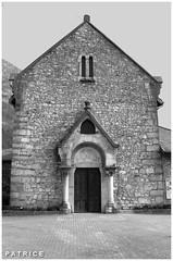 Eglise du Fontanil 4N&B (patrice3879) Tags: statue joseph place expo charles mariage rue eglise mairie salle fronton fontanil passquier