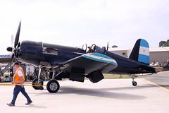 F4U-5N VH-III 7 (joolsgriff) Tags: fighter airshow corsair chance warbird 2016 vought tyabb f4u5n 124493 ytya fah603 peninsulaaeroclub vhiii