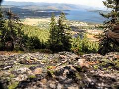 View of the southern Cabinet mountain range from the southern part of the Selkirk mountain range. #hikenorthidaho #ig_idaho #pnw #idahoadventures #idahoexplored #upperleftusa #visitidaho #visitnorthidaho