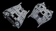 Incom T-47 Snowspeeder (Dark-Alamez) Tags: starwars lego snowspeeder incom t47