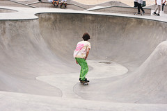 (brittani m.) Tags: california travel venice girls summer beach nature boys kitchen fun graffiti model sand bowl newyear bum explore skate skateboard venicebeach insomniac streetshow stills bestfriends lightroom newadventures