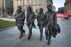 Liverpool Heritage - The Beatles! (davebyford01) Tags: uk england heritage statue liverpool thebeatles