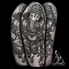 Black-and-Grey-Ganesha-half-sleeve-tattoo-on-upper-arm-by-ben-lucas-at-eye-of-jade-in-chico-ca (BenLucasTattoos) Tags: ca black eye tattoo by grey ganesha arm ben lucas upper jade ganesh half chico done sleeve blackandgrey ganeshatattoo ganeshtattoo benlucas eyeofjade eyeofjadetattoo benlucastattoo benlucastattoos eyeofjadetattoos