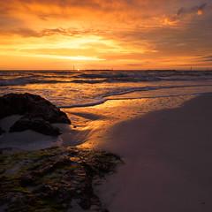 Marco Island Sunset (Garen M.) Tags: ocean sunset beach bay sand gulf florida dusk marcoisland southernflorida olympusomdem1 lumix20mmf28 zuikopro1440mmf28
