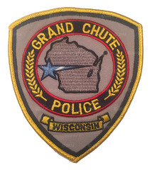 Grand Chute Police Patch (Nate_892) Tags: county green wisconsin bay coin conservation police grand valley badge fox milwaukee waukesha sheriff patch tribe sheboygan gresham wi chute challenge swat oneida outagamie