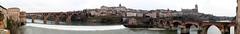 ponts_neuf_vieux_cathédrale_albi (xtrice) Tags: france gimp tarn ubuntu pontneuf albi panoramique hugin vieuxpont