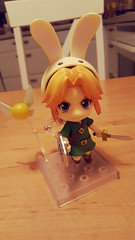 Oh my god look at this little cutie that arrived today! #link #nendoroid #legendofzelda #loz #majorasmask #figure (gattina*) Tags: figure link loz legendofzelda majorasmask nendoroid
