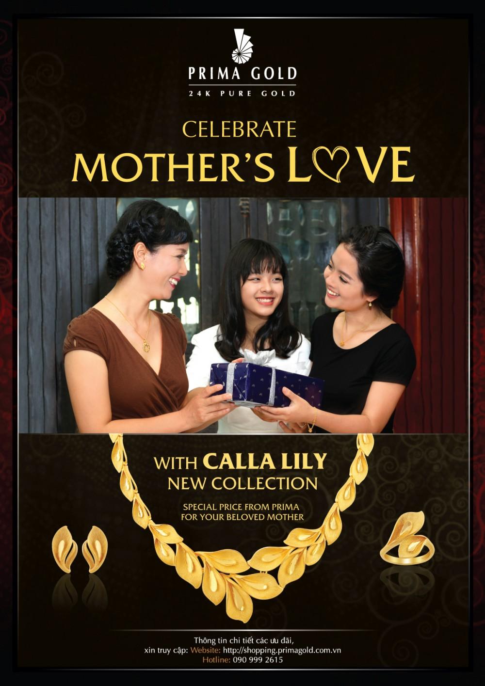 Món quà tặng Mẹ yêu thương