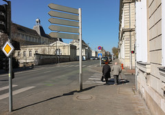 rue Gambetta scofflaws (farrellito) Tags: crosswalk saumur