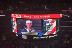 Michael Lomax - Hero of the Game (mark6mauno) Tags: hockey nhl michael losangeles los nikon angeles center kings national nikkor staples lomax league scoreboard staplescenter 50mmf14d losangeleskings nationalhockeyleague d810 nikond810 201516 ar2x3