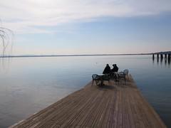 il silenzio perfetto (givanna) Tags: lago cielo pace acqua umbria celeste prospettiva pontile orizzonte silenzio lagotrasimeno tranquillit isolamaggiore