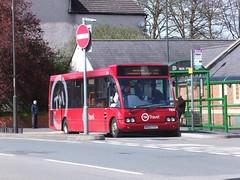TM Travel 1164 Staveley (Guy Arab UF) Tags: street travel bus buses market derbyshire solo tm optare staveley 1164 wellglade wellgladegroup mx03ycp