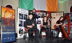 Comhaltas Ceoltir ireann. (Longreach - Jonathan McDonnell) Tags: flute fiddle harp concertina uilleannpipes buseireann dsc0153 comhaltasceoltirireann celebratinganationonitsjourney macalla1916 anechoofthepastavisionforthefuture