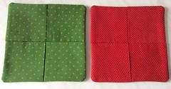 Coasters (ZiKiarts) Tags: paris france color home handmade crafts made fabric coasters zagros thisphotorocks zardkuh zikiarts zikia