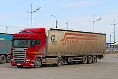 Scania R400  P 119 KX 45 (RUS) (zauralec) Tags: 45 p scania 119 kx rus kurgan r400 shoppingcenterhypercity