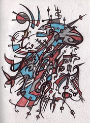 The Soprano (darksaga66) Tags: opera doodle singer penandink soprano inkart bookofink
