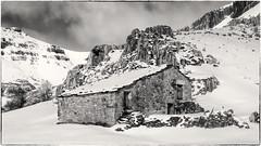 Paisaje nevado (Carpetovetn) Tags: espaa blancoynegro blackwhite nieve paisaje bn montaa cantabria cabaa nevado monocromtico arredondo asn sonynex5n