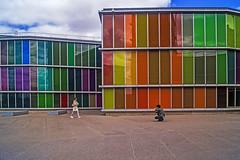 ... ... (Lanpernas 2.0) Tags: art fashion architecture arquitectura arte colores museo len fachada vidrieras vidriera fotografa musac urbanite demilcolores