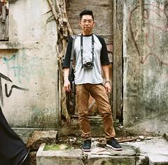 Hasselblad 501c (Anniedick_sunny) Tags: hongkong kodak hasselblad portra400 501c 上環 哈蘇