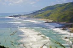 ocean ripple-4 (SusanCK) Tags: ocean newzealand landscape susancksphoto