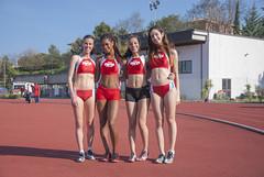 la 4x800 femminile con Ilaria Sabbatini, Binta Mamadou Diallo, Samira Amadel, Micaela Melatini