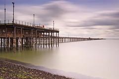 (Andy Bracey -) Tags: longexposure sea seascape thames landscape coast pier nikon jetty coastal essex southend southendonsea bracey thamesestuary leefilters d700 pierjetty bigstopper andybracey